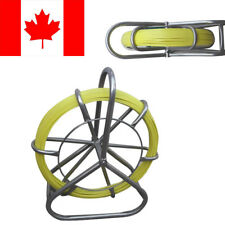 Fish Tape Fiberglass Wire Cable Running Rod Duct Rodder Puller Non-Conductive SS