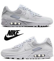 Nike Air Max 90 Men's Sneakers Running Athletic Comfort Sport Gym Casual Gray