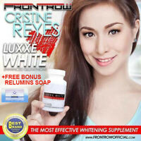 Luxxe White Enhanced Glutathione-Frontrow w/Free Relumins Stem Cell Soap-ON SALE