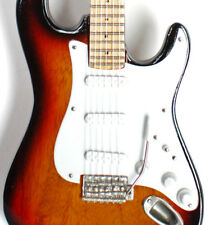 Miniature Guitar John Frusciante Red Hot Chili Peppers Sunburst Free Shipping