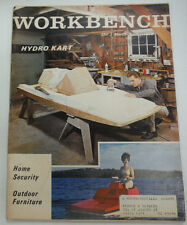 Workbench Magazine Hydro Kart Home Security April 1970 071615R2