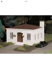 Plasticville By Bachmann O Scale Police Station With Car Kit 45609 NEW