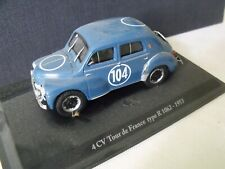 1/43  ELIGOR - RENAULT 4 CV Tour de France type R 1062 - 1953