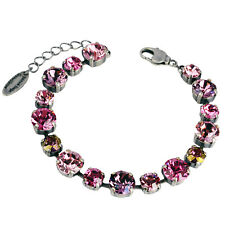 Grevenkämper Armband Swarovski Kristall Tennis rosa lila Rose Antique Pink