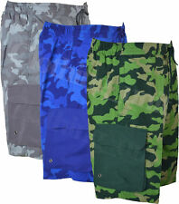 Unbranded Camouflage Loose Fit Men's Shorts