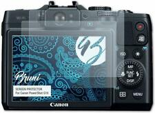 Yumoto Camera LCD Screen Protector Film For Canon PowerShot G16 ( pack of 2)