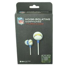 NFL San Diego Chargers Headphones Earphones Music Iphone Mp3 iHip Noise Isolatin