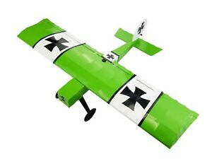 Mini Ugly Stick Model RC Airplane GREEN Easy Kit With Pre-Cut Covering