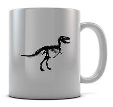 Esqueleto De Dinosaurio Trex Taza Taza Presente Regalo Cumpleaños Café