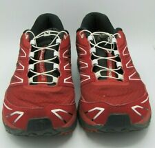 Salomon Sense Mantra 3 red & Black Men Trail Running Shoe US 9.5