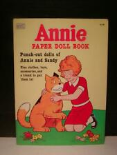 Vintage Paper Doll Book - 'Annie' Punch Out dolls of Annie and Sandy