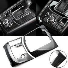 For Mazda CX-5 CX5 2017-2020 Gear Shift Console Panel Frame Cover Trim Black