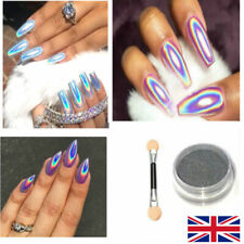 Mirror Powder Chrome Effect Pigment Nails Silver Nail Art Holographicsss Glitter