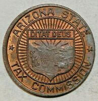 1930's Token, Chang for 1 Correct Sales Tax Payment. (B7)