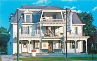 Worthington Ohio~3 Story Worthington Inn~Circular Staircase~1960s Postcard
