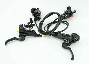 Shimano Deore BL-M615 BR-M615 Scheibenbremse Set VR + HR 800/1550mm M615 Brakes