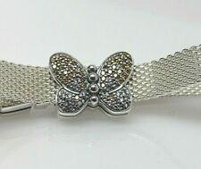 REFLEXIONS PANDORA Bedazzling Butterfly CZ Clip Charm #797864CZM S925 ALE