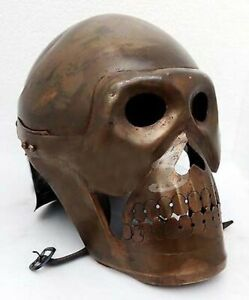 Halloween Roman Knight Viking Mask Medieval Spartan Armour Skeleton Skull Helmet