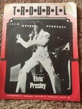 TROUBLE- Elvis Presley- Sheet Music