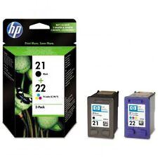 CARTUCCE ORIGINALI HP 21 NERO HP 22 COLORE (1+1) (SD367AE) - SCADUTE