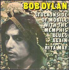 BOB DYLAN STUCK INSIDE OF MOBILE … 45T SP 1976 CBS 7859 Disque NEAR MINT