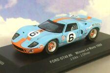 Ford GT40 Gulf #6 Winner 24h LeMans 1969 Ickx Oliver 1 43 Ixo