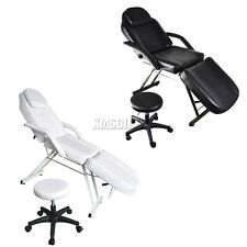 WestWood Beauty Salon Bed Chair | Stool Included - Massage Table Tattoo Therapy
