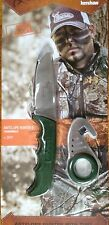KERSHAW BUCK COMMANDER ANTELOPE HUNTER II KNIFE + ZIPIT NEW GREEN