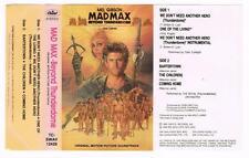 MAD MAX: BEYOND THUNDERDOME   *RARE CASSETTE TAPE*  1985, {TC-SWAV 12429}