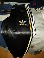 Adidas Chile 62 Jogginghose Gr. S Gold/Silber/Weiß