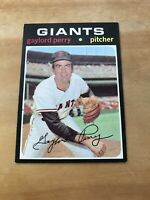 1971 TOPPS #140 GAYLORD PERRY HOF SF GIANTS— WELL CENTERED💥*** (wph)