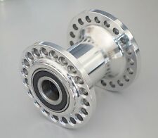 "Spool Hub 3/4"" axle, 36 spokes, polished aluminium"