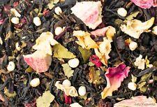 1 Kg. Black Tea With Sweet Brombeerblättern And Erdbeer-Rhabarber