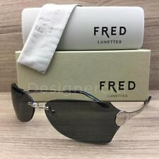 Fred Lunettes Sainte Helene F1 Sunglasses Palladium Grey 102 Authentic 63mm
