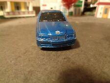 MAISTO BMW  328 i,  BLUE   1:64 SCALE DIE-CAST    5-27-15