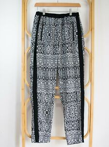 New LAURA ASHLEY soft pull on lounge pants 10 8 zip pockets