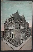 Chamber of Commerce Cincinnati  Ohio Vintage Postcard D102