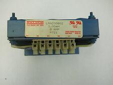BALDOR LRAC00802 3.00mH 8 AMP THREE PHASE REACTOR