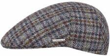 Stetson Wool Check Driver Sport Cap Ivy Newsboy Checks Blue/green/brown 57CM M