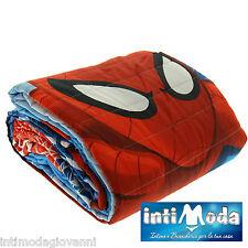 Trapuntino Marvel Spiderman copriletto trapuntato 180x260cm primaverile estivo