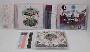 Kikuo CD Kikuo Miku 1 2 3 3CDs Set W / Obi Japan Import Hatsune Miku Vocaloid