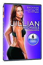 Jillian Michaels for Beginners BACKSIDE (DVD) workout the biggest loser NEW