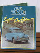 MORRIS MINOR &1000,Saloons,Travellers &Convertibles SUPER PROFILE HAYNES
