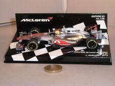 Voitures Formule 1 miniatures noirs MINICHAMPS