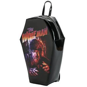 Wolfman Coffin Purse Handbag Werewolf Wolf Gothic Goth Monster Horror Backpack