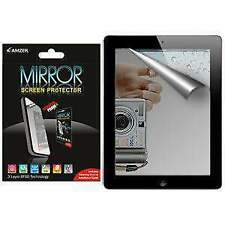 AMZER Mirror Screen Protector Scratch Guard With Cleaning Cloth For iPad 2
