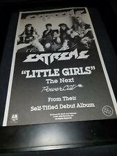 Extreme Little Girls Rare Original Radio Promo Poster Ad Framed!