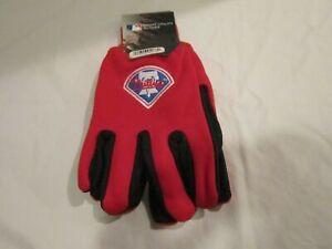 Philadelphia Phillies Official Winter Utility Gloves OSFM NWT Free Ship