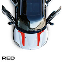 Bonnet Boot Decor Stripes Decal Graphics For Mini Cooper Countryman R60 R61
