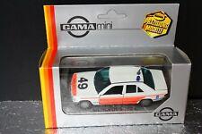 MB Mercedes Benz 190 Polizei Police Rukspolite 1:43 GAMA Box